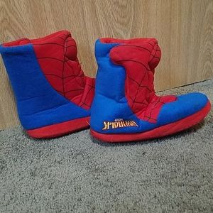 🌟3/$20 Boys Spiderman slippers